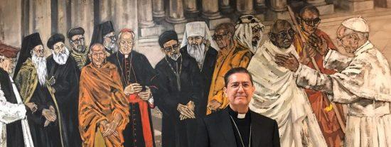 El español Miguel Ángel Ayuso Guixot, presidente del Pontificio Consejo para el Diálogo Interreligioso