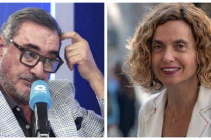 """Carlos Herrera entra en erupción después de la """"sumisión rastrera"""" de Batet al separatismo"""