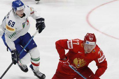 La selección de hockey de Rusia le mete una paliza histórica a Italia: 10:0