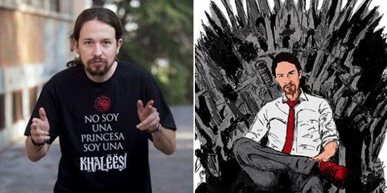 Pablo Iglesias politiza a la española el final de Juego de Tronos con un festejo repulsivo