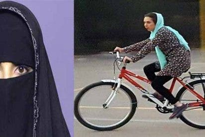 Los financiadores iraníes de Podemos prohíben a las mujeres ir en bicicleta por ser un 'acto pecaminoso'