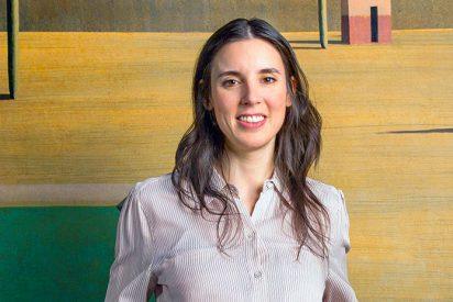 La podemita Irene Moreno sucumbe ante la tentación del 'Glamour'