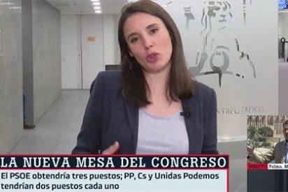 ¡Sujétame la cerveza, Pablo!: Irene Montero no titubea en anunciar que no quiere un ministerio sino decidir todo el Gobierno y sus planes