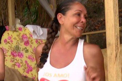 Isabel Pantoja confiesa a sus amigas de equipo de 'Supervivientes' que está enamorada