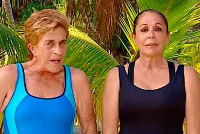 Televisión: Así fue la 'no' despedida de Isabel Pantoja con Chelo García Cortés en 'Supervivientes'