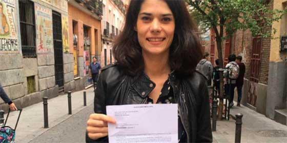 Isa Serra sigue 'on fire': la podemita presume en redes porque le ha tocado estar en mesa demostrando que no tiene ni pajolera idea de la ley electoral