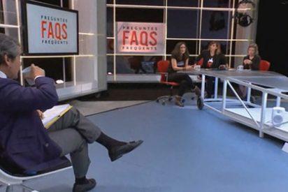 Así de vomitiva es la golpista TV3: dos activistas de izquierdas evitan rechazar la violencia si es contra la derecha