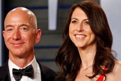 """El comentario de la ex de Jeff Bezos: """"Tengo una cantidad desproporcionada de dinero para compartir"""""""