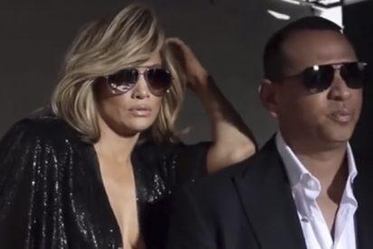 Jennifer López deja a todos locos con este vídeo sin sujetador en compañía de Álex Rodríguez