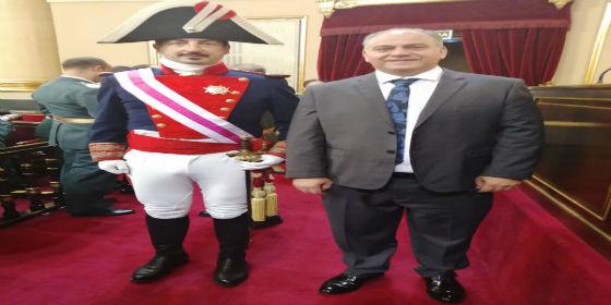 IGC estuvo representada en el 175 aniversario dela Guardia Civil promovido por la Corona y Las Cortes Generales