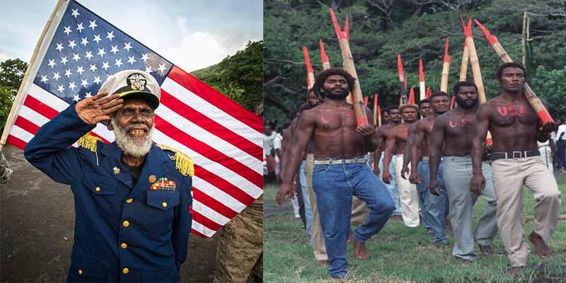 La tribu que desde la II Guerra Mundial espera a John Frum y tiene una religión basada en los aviones