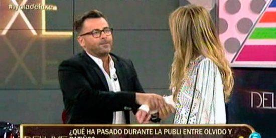 Jorge Javier Vázquez ya mostró sus malos modos con Olvido Hormigos