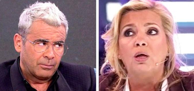 Nuevo ataque brutal: ¿Por qué le tiene tanta manía Jorge Javier Vázquez a Carmen Borrego?