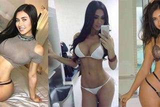 Con esta figura de diosa egipcia reapareció Joselyn Cano, la Kim Kardashian mexicana