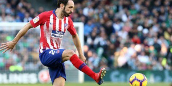Juanfran Torres anuncia su despedida del Atlético de Madrid