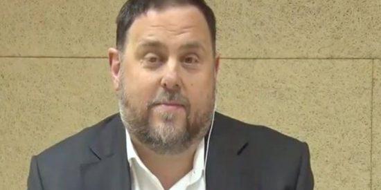 La Junta Electoral impide al 'golpista' Junqueras participar en el debate de TV3 desde la cárcel