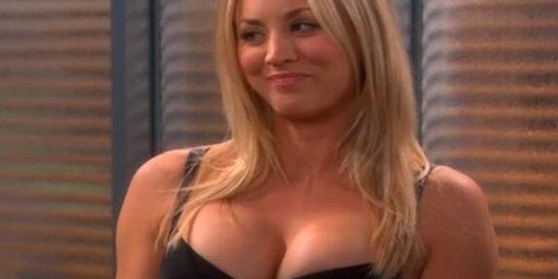 La Hermana Morena De Kaley Cuoco Penny En The Big Bang Theory