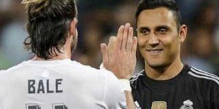 Cara y cruz para Keylor y Bale en su despedida en el Bernabéu
