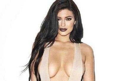 El mini traje de cuero de Kylie Jenner más ajustado que el tornillo de un submarino