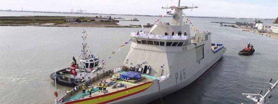 Un navío de guerra británico abre fuego contra un buque de la Armada Española en Gibraltar