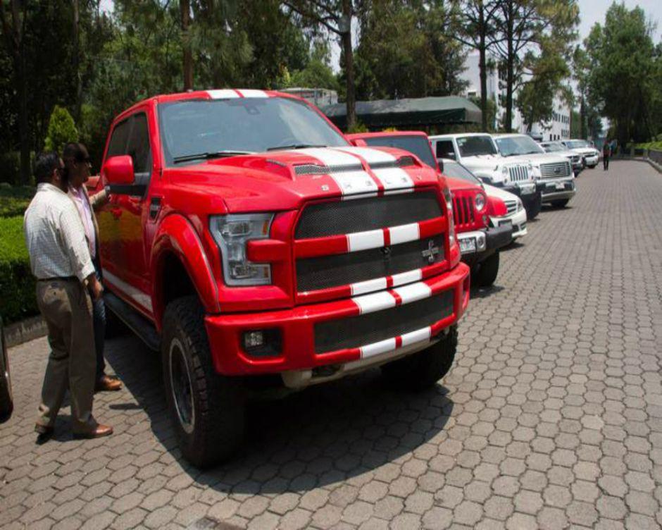 La monstruosa camioneta de un amigote de El Chapo que subastaron en México