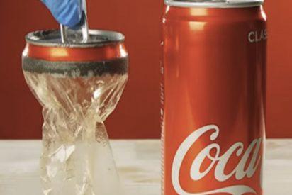 ¿Todavía no has visto el vídeo viral que revela cómo volver una lata transparente?