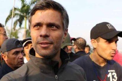 El opositor Leopoldo López se refugia junto a su familia en la Embajada de España en Caracas
