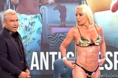 Leticia Sabater estrena cuerpo: Así le han quedado los bíceps, abdomen, espalda, muslos y monte de Venus