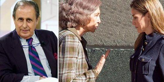 Casa Real estalla y reacciona a los nuevos y graves insultos de Peñafiel a Doña Letizia