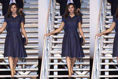 ¿Sabes por qué este vestido de Letizia está protagonizando tantos titulares en la prensa extranjera?