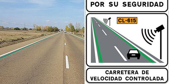 ¿Sabes qué significan las nuevas líneas verdes pintadas por la DGT en carreteras secundarias?