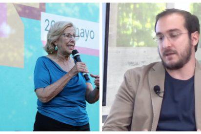 """Luca Costantini (VozPopuli): """"Carmena fue una alcaldesa que solo gobernó para los hipsters de Malasaña"""""""