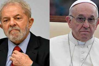 """""""El bien vencerá al mal"""" La carta del papa Francisco contra la justicia y en apoyo al corrupto Lula Da Silva"""