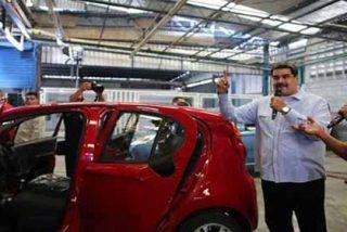 Debacle comunista: producción automotríz en Venezuela cayó un 99% en una década