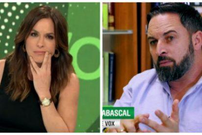 El odio y el delirio de Mamen Mendizabal contra Vox le llevan exigir a Santiago Abascal que se aleje del Congreso de los Diputados