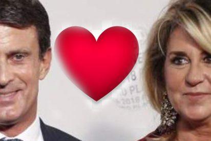 Manuel Valls feliz como una perdiz tras anunciar su boda con Susana Gallardo: ¿llevará ella un traje de Pronovias?