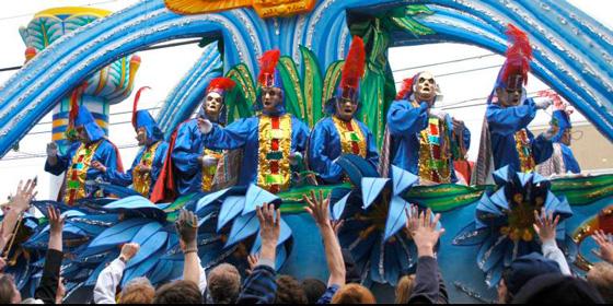 """Qué ver en Estados Unidos: """"Mardi Gras"""", la fiesta pagana"""