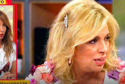 A María Patiño se le 'hincha la vena' y explota contra Carmen Borrego