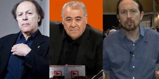"""Javier Marías retoma su guerra con Iglesias y le critica por su """"señoritismo subido"""" y arremete contra laSexta por haber ejercido de """"caja de resonancia"""" de Podemos"""