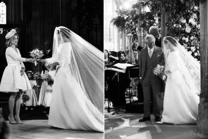 Fotos: Las imágenes inéditas de la boda de Meghan Markle y el príncipe Harry