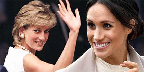 Los mensajes de Meghan Markle a Lady Di que para muchos, excepto para la reina, han pasado inadvertidos