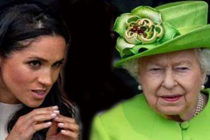 Brutal bronca de Isabel II a Meghan Markle, que dejó a Kate Middleton, Harry y William con la boca abierta