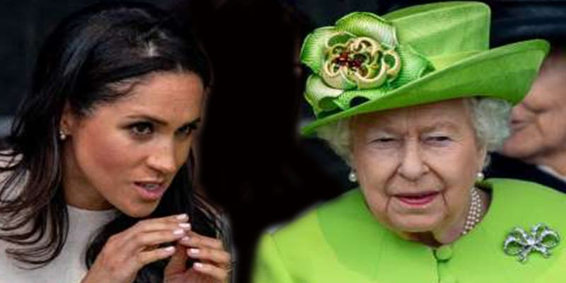 Brutal bronca de Isabel II a Meghan Markle, que dejó a Kate Middleton, Harry y William con la boca abierta