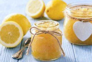 Mermelada de limón sin azúcar