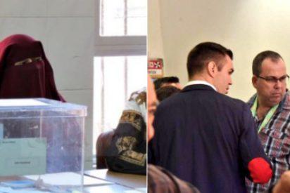 No es Irán, es Ceuta: la intolerable imagen de una encapuchada con burka que hizo estallar a Abascal