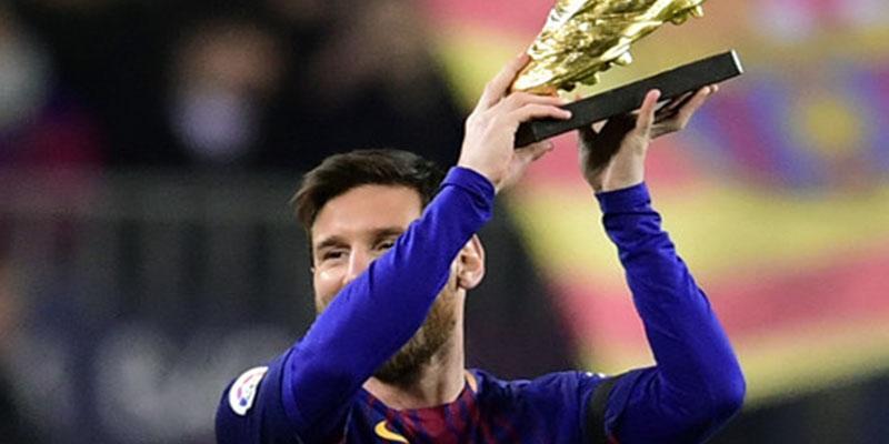 Leo Messi sigue rompiendo récords y logra su sexta Bota de Oro como máximo goleador de Europa