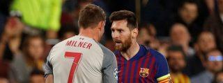 La 'cara B' de Messi: Un jugador del Liverpool le acusa de humillarle e insultarle en pleno juego