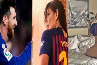 Suzy Cortez está empeñada en arruinarle el matrimonio a la esposa de Messi