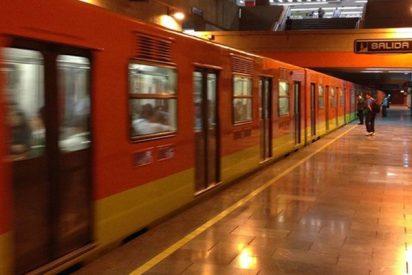 Tres heridos tras un chispazo en un andén del Metro de Ciudad de México