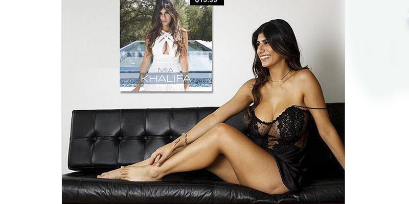 Mia Khalifa vuelve a mostrar toda su sensualidad en pequeña lencería